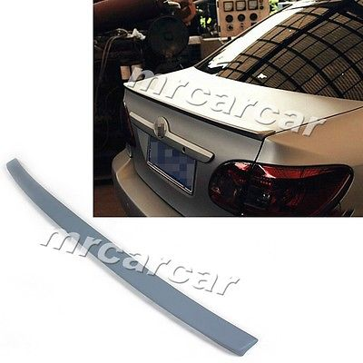 Фотография Unpainted Trunk Boot Spoiler ,Rear Wing Tail Wing Lip Fit For Toyota Corolla 2006-2013