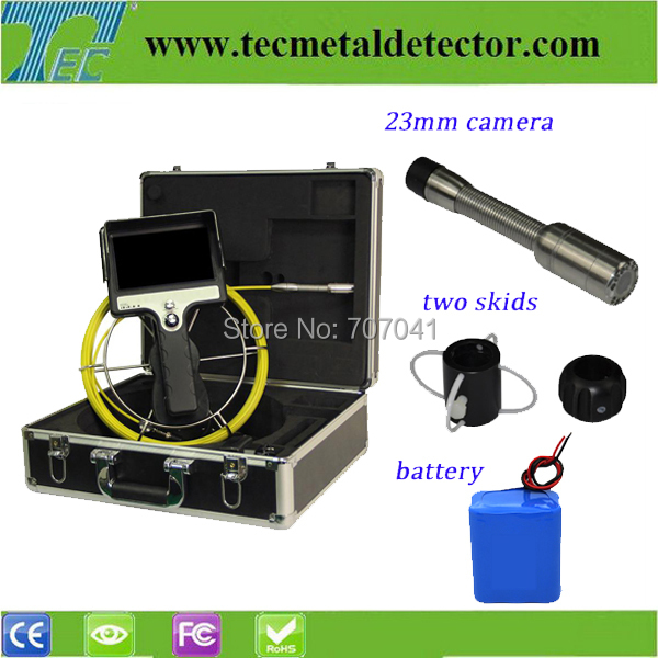 underwater inspection camera TECZ710 -SCJ , waterproof pipe inspection camera with 30m cable(China (Mainland))