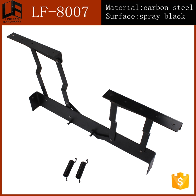 Top Quality Iron Extending Table Lift Up Mechanism/Gas Lift Top Coffee Table Mechanism(China (Mainland))