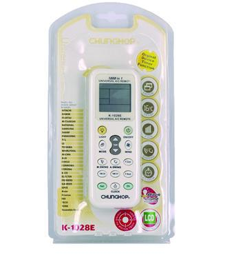 CHUNGHOP K-1028E (1000 in 1) Universal Air-conditioner Remote Controller LCD(China (Mainland))