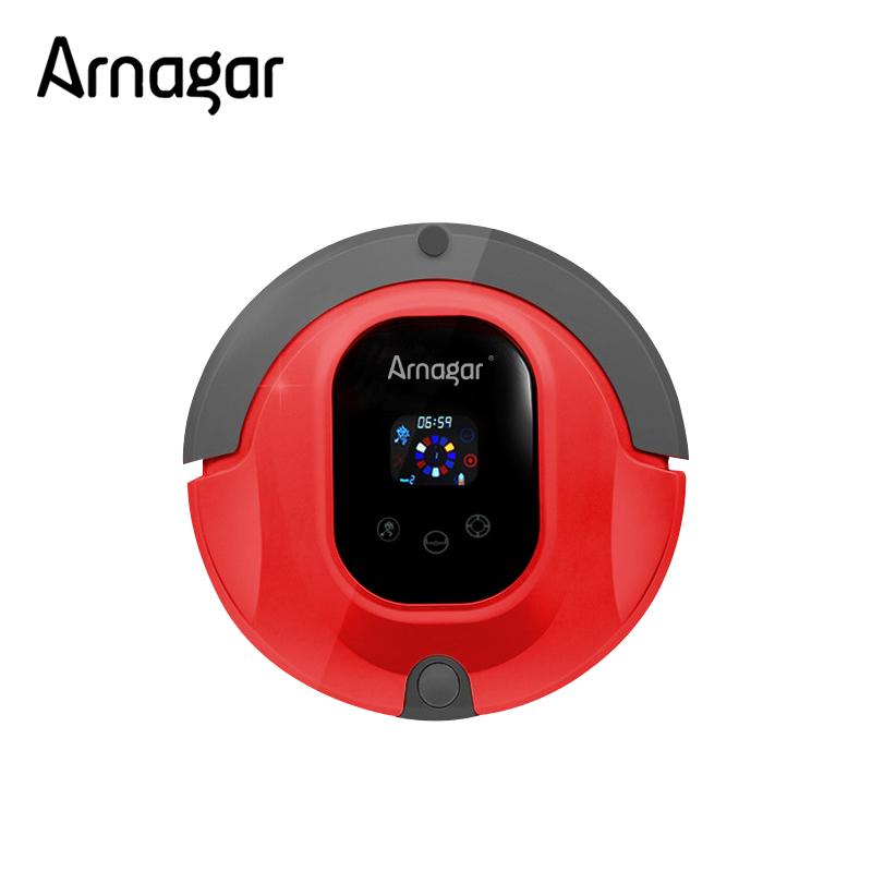 Arnagar AR-Q3S High-end Multifunctional Aspiradora Robot,Touch Screen,Schedule, VirtualWall,Auto Charge Robot Aspirador(China (Mainland))