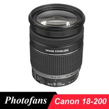 Buy Canon 18-200 IS Lens EF-S 18-200mm f/3.5-5.6 IS Lenses 600D 650D 700D 750D 760D 60D 70D 80D 7D Rebel T3i T4i T5i for $399.00 in AliExpress store
