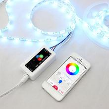 ( Usr – wl1 ) Wifi RGB LED contrôleur de bande, Sans fil Smartphone APP contrôlée LED gradateur avec IOS / Android