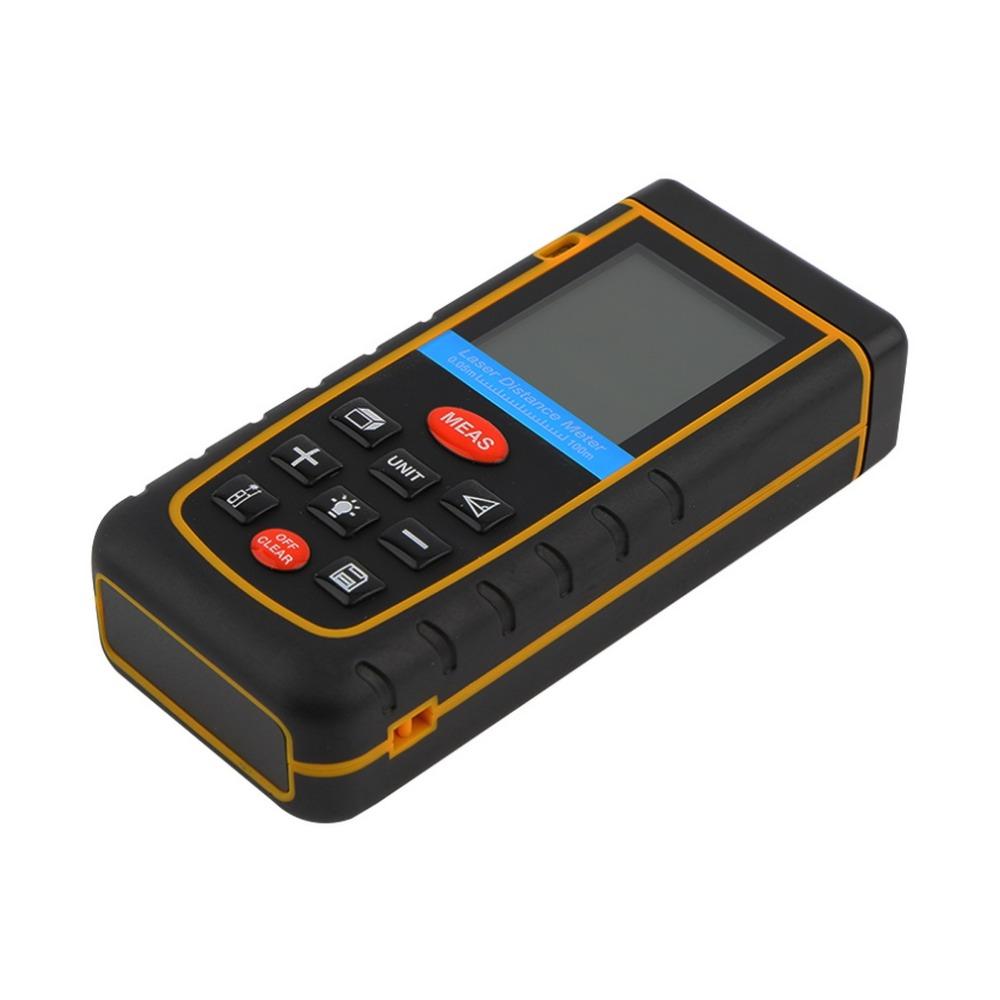 1 Pc RZ-A100100M/328ft/3937in Mini Digital Laser Distance Meter Range Finder Measure Brand New