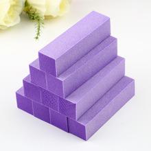 10pcs purple 23*23mm Buffer Buffing Sanding Files Block Acrylic Nail Art Tips Manicure Tool wholesale Hot Selling(China (Mainland))