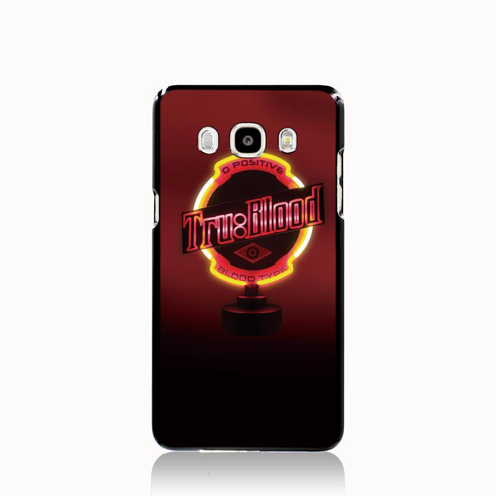 09967 True Blood Type Vampire logo cell phone case cover for Samsung Galaxy J1 MINI J2 J3 J7 ON5 ON7 J120F 2016(China (Mainland))