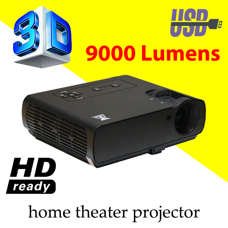 Promotion for Games DLP Projector Active Shutter 3D native 800*600 resolution laptop pc smart phones Beamer(China (Mainland))