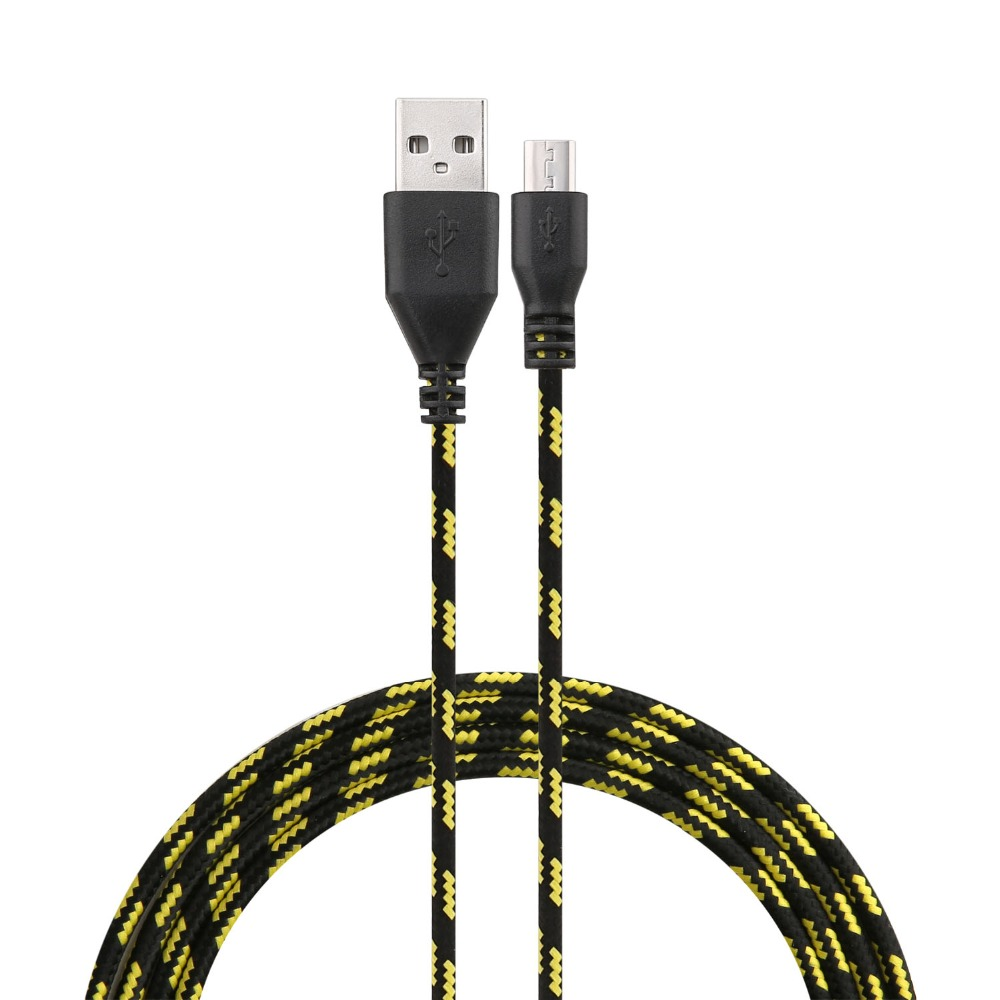 3M Durable Multi colors Braided Micro USB Cable Coiled Charger Data Sync Cable Cord For Samsung Galaxy S7 S7 edge Android Phone(China (Mainland))