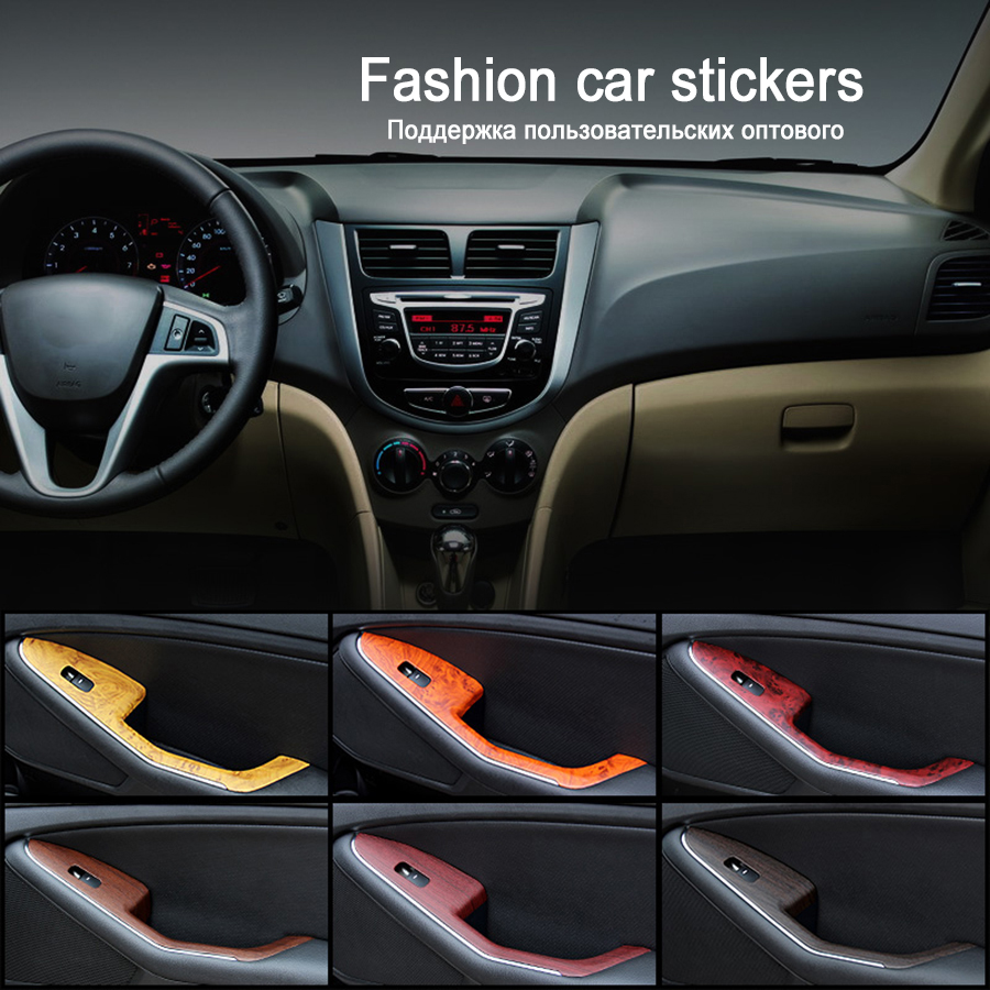 Car sticker design jb - Leadtops 100cm 30cm New Car Styling Door And Central Control Panel Car Sticker Waterproof