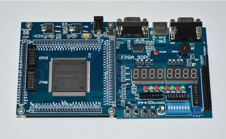 Free Shipping FPGA CPLD development board 00IC EPM240 Learning Board ALTERA EPM240T100C5N(China (Mainland))