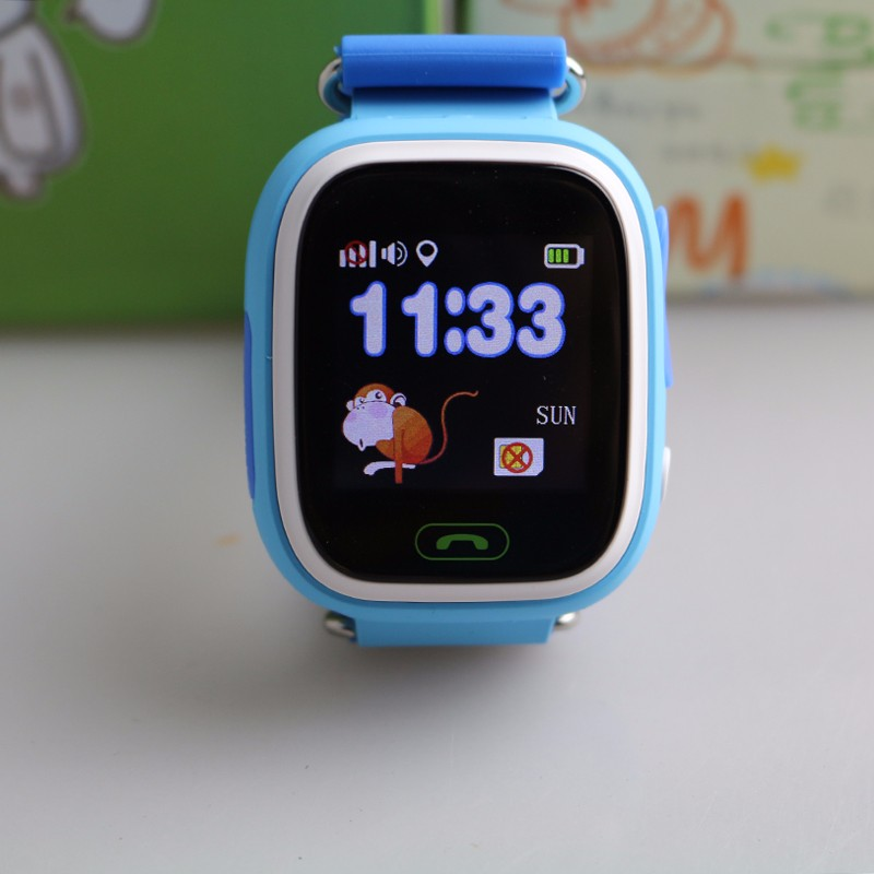 image for Smarcent Child Smart Watch Q90 GPS Tracker Watch Location Finder Devic
