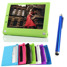 Buy fashion 10.1 inch Lenovo tablet case NEW Hot Lenovo Yoga Tablet 2 1050 1050F Silicone case cover+stylus for $7.43 in AliExpress store