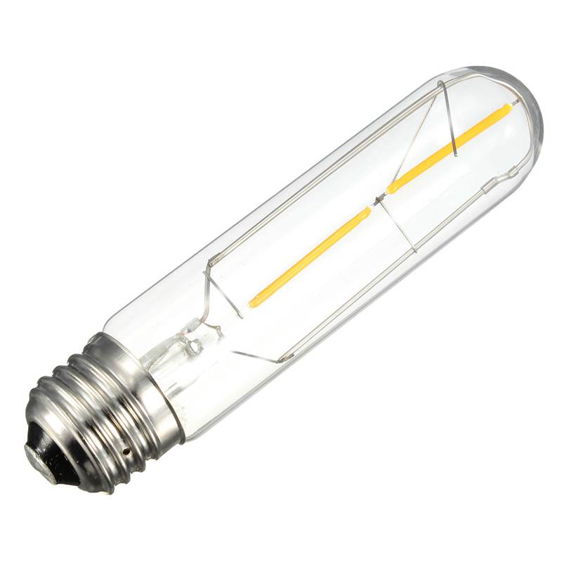 Best Price T10 COB LED Vintage Filament Light Warm Yellow Energy Saving Lighting Lamp Bulb 360 Degree 110V-240V(China (Mainland))