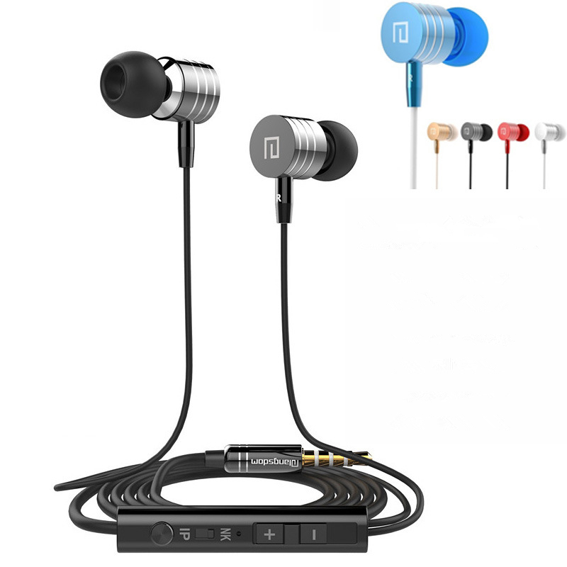 Original HUAST in-ear earphones with Mic audifonos Stereo Super Bass Noise isolating ecouteur for huawei apple fone de ouvido(China (Mainland))