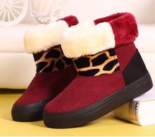 Envío de La Manera de Tobillo Botas Slip-on botas Nieve de Las Mujeres Zapatos Casuales Tamaño 35-39(China (Mainland))