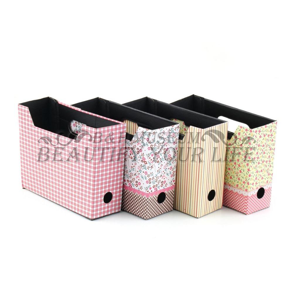 2pcs Cute Makeup Cosmetic Stationery DIY Paper Board Storage Desk Organizer Box(China (Mainland))