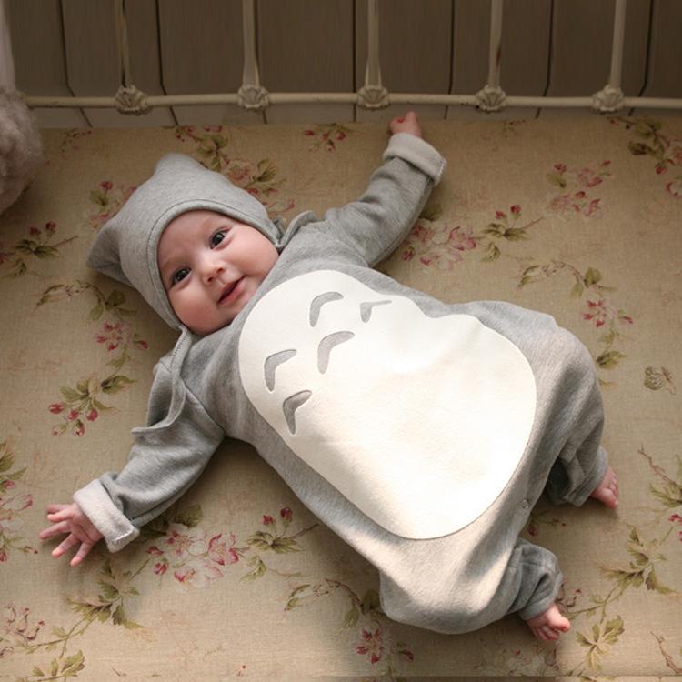 2015 New baby rompers boys girls chinchilla long sleeve sleepsuit with hat infant baby clothing bebes costume newborn wearing<br><br>Aliexpress