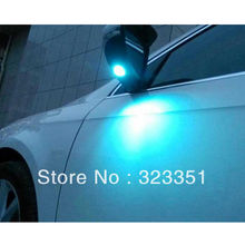 2PC BLUE LED Super Bright Side Mirror Light VW Passat B7 Scirocco CC - KiWi Technology & Trading Limited store
