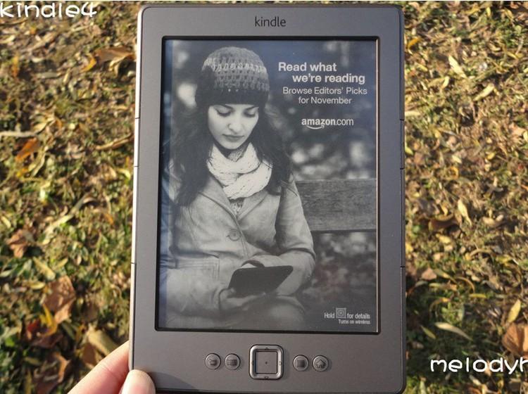 * Original Kindle 4 Kindle eBook e-ink Screen WIFI 2G cheap Electronic Paper Book Plus Kindle4 Russian language Free shipping(China (Mainland))