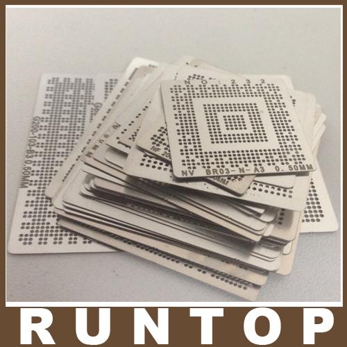 for Laptop Nvidia Chip 36 pcs /set Bga Reballing Stencil Tample Kit(China (Mainland))