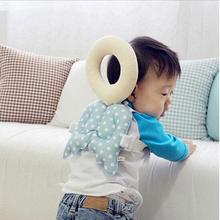 Baby Head protection pad Toddler headrest pillow baby neck Cute wings nursing drop resistance cushion(China (Mainland))