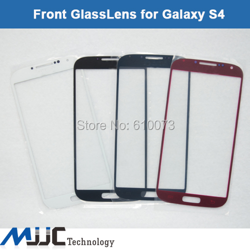 Blue White Red Black Replacement LCD Screen Glass Lens Samsung Galaxy S4 S IV i9500 i9505 i337 10PCS/Lot Free Shipping