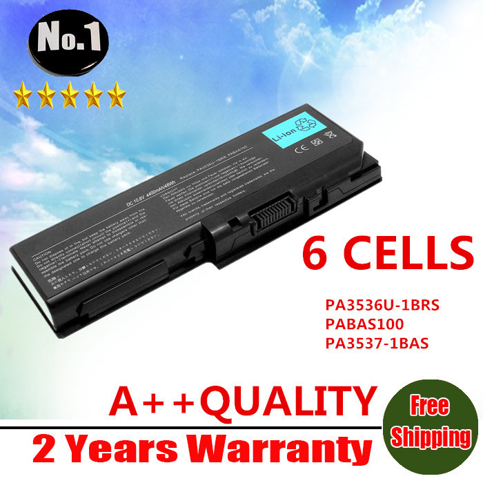 wholesale new 6CELLS Laptop Battery For Toshiba Satellite L350 L355 P200 P20D P300 X200 P205 SERIES PA3536U-1BRS  Free shipping(China (Mainland))