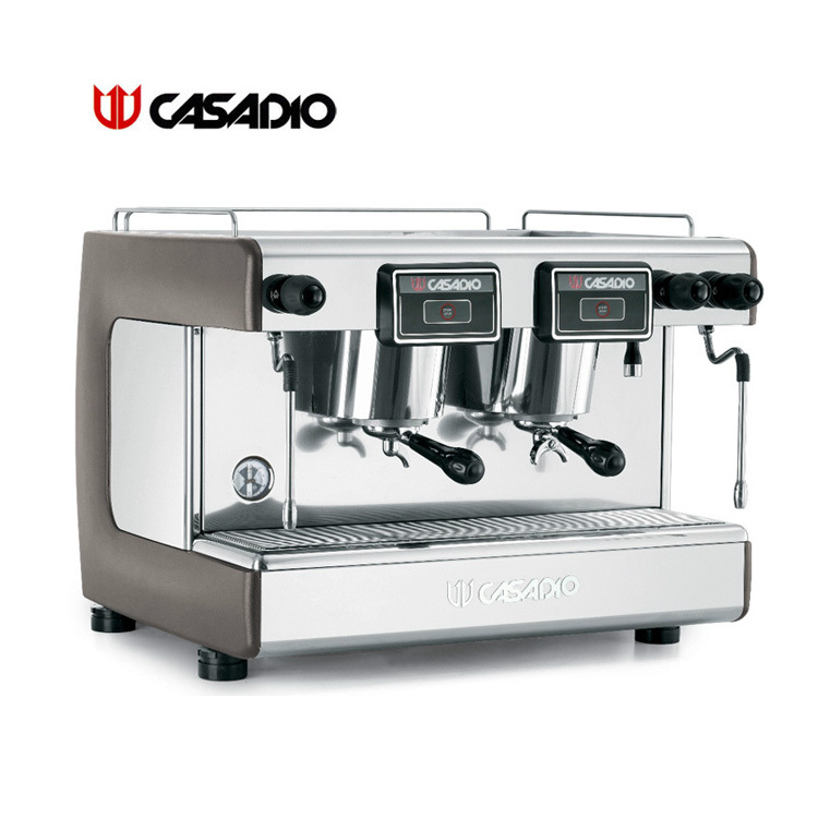 CASADIO Casa Dio imported double semi-automatic coffee machine DIECI / S2 manual Commercial(China (Mainland))