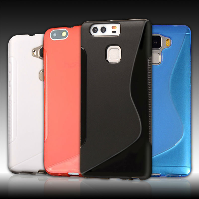 Soft Silicon Case Huawei P8 P7 P6 P9 4X 5X LITE / Honor 6 7 7i 3C 4C 4A Bee Y625 G7 G8 Anti Skiding S LINE Rubber Cover  -  ToolTech service centre store
