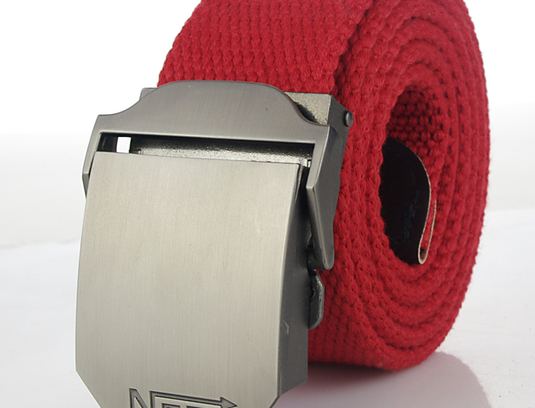 HTB1tPO7PVXXXXcJaXXXq6xXFXXXR - Hot male tactical belt Top quality 4 mm thick 3.8 cm wide canvas belt For men NO5 Automatic buckle Man extended 160 cm belts