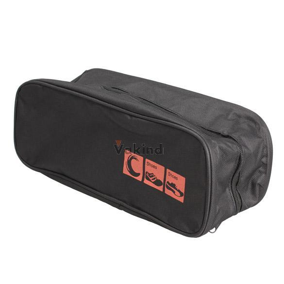 V1NF New Waterproof Shoe Bag Travel Storage Visual Breathable Tote Bag Black(China (Mainland))