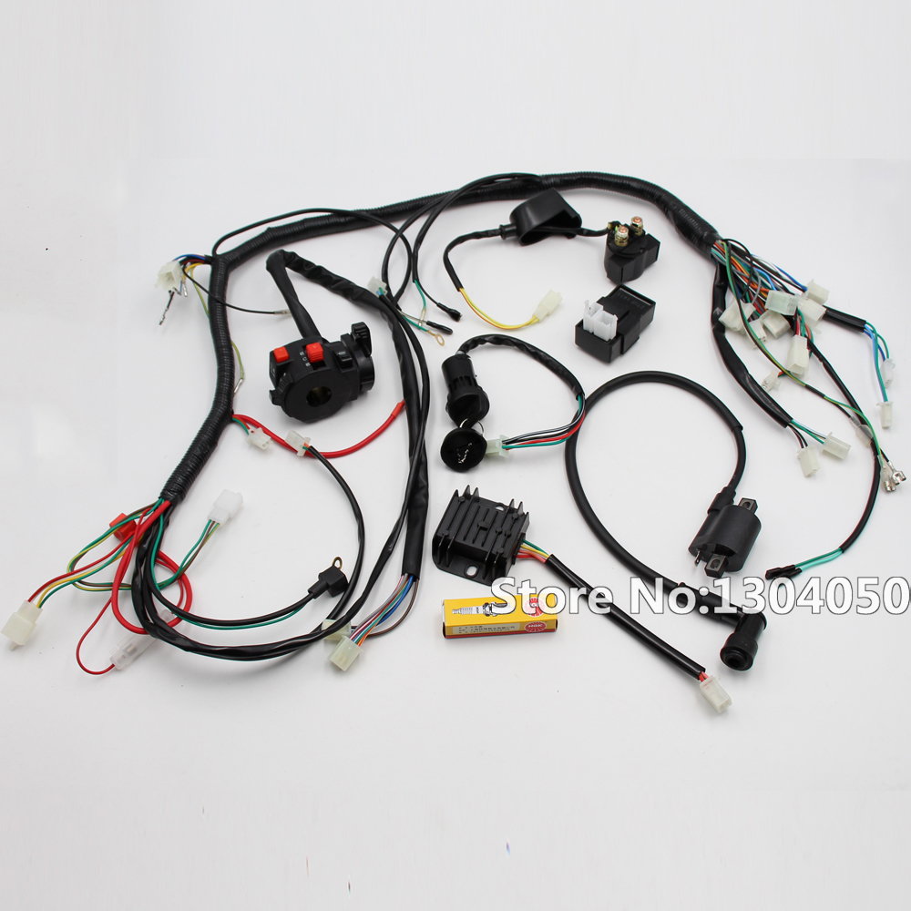 Solenoid Wiring Harness 150cc Go Kart Diagrams Electrical Diagram 250cc Dune Buggy Hammerhead Gy6
