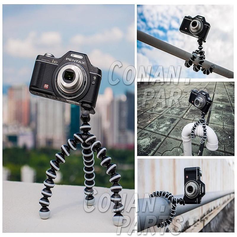 Universal Mini Gorilla Pod Camera Tripod Stand Holder for Digital Camera Caon Nikon Sony d3100 d7000 for Gopro Camera(China (Mainland))