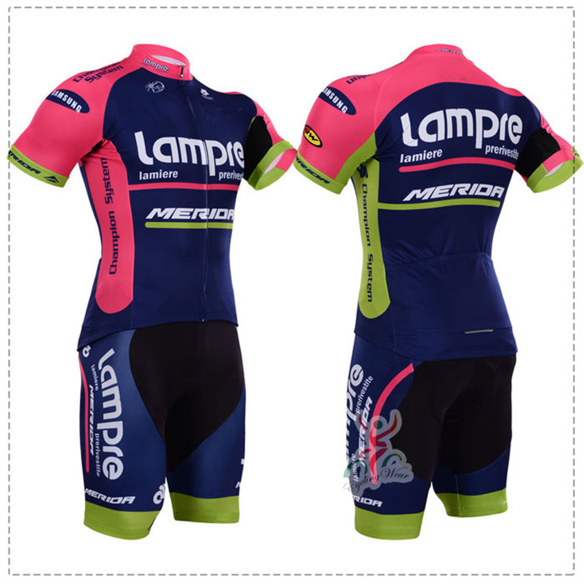 hot sale cycling jersey 2015 lampre merida cycling clothing pro ciclismo short sleeve ropa ciclismo mountain bike maillot(China (Mainland))