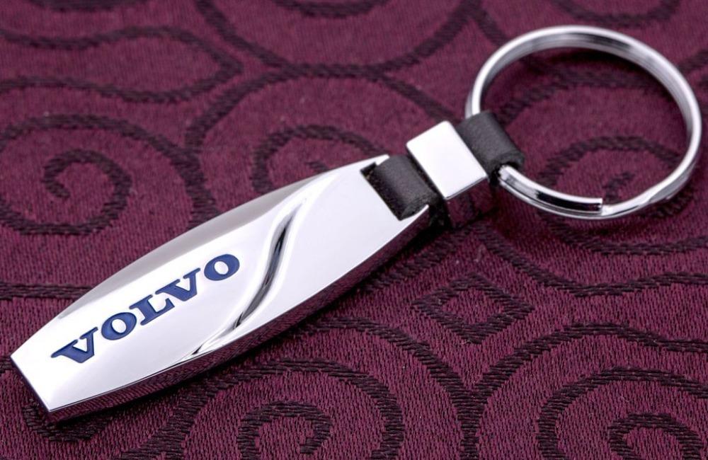 В вода капли автомобильный ключ цепь металл брелки logo ключ цепь для volvo ас a подарок