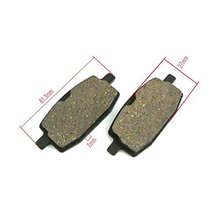 Generic Disc Brake Pads Fit Chinese GY6 49cc 50cc 125cc 150cc Moped Scooter 2pcs