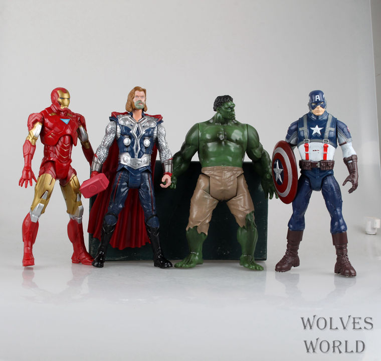 Free shopping  NER HOT IRON MAN 4 the avengers alliance big doll suit American captain, iron man hulk thor Animation Model hand<br><br>Aliexpress