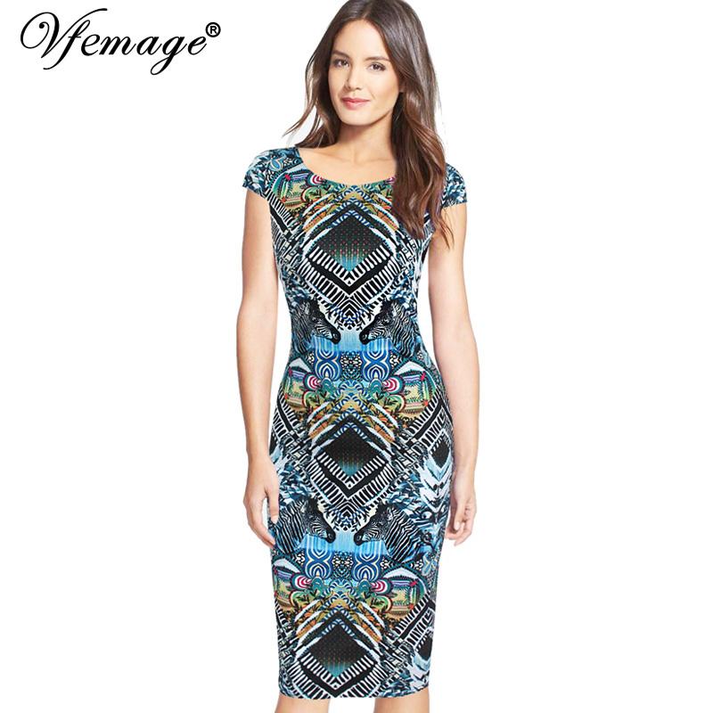 vfemage womens slimming zebra printed summer boho