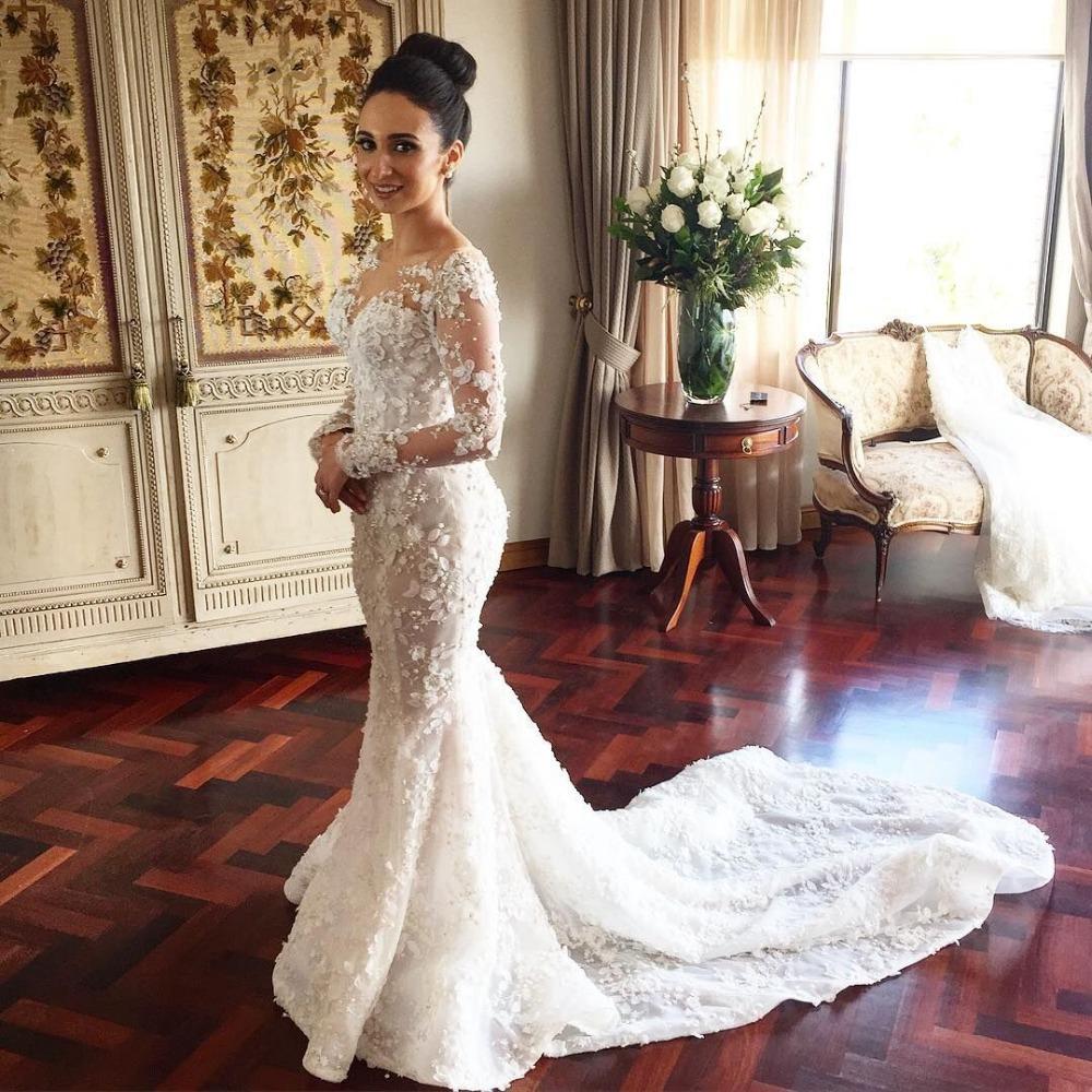 jeweled neckline cap sleeved flowing chiffon wedding dress hs jeweled wedding dress Sheer One Shoulder Flowing Wedding Dress Features Jeweled Waist