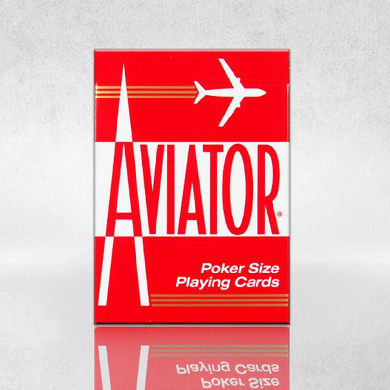 Free Shipping One Deck Red Or Blue Color Bicycle Poker Magic Playing Cards Aircraft Pilots Deck Magic Props Magia Tricks(China (Mainland))
