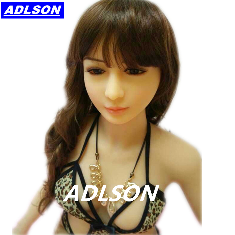Full Body Tpe Sex Doll Size 145cm Life Like Asian Realistic Solid Rubber Sex Doll Big Breast Metal Skeleton Artificial Sexpuppen(China (Mainland))