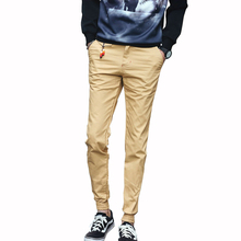 New Style Spring Autumn Solid Mens Joggers Pants Casual Slim Men Trousers