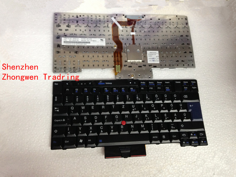 New Free Shipping For IBM Lenovo ThinkPad T400S T410 T410I T410S T410SI T420 T420i T510 t510i W510 laptop UK Black Keyboard(China (Mainland))