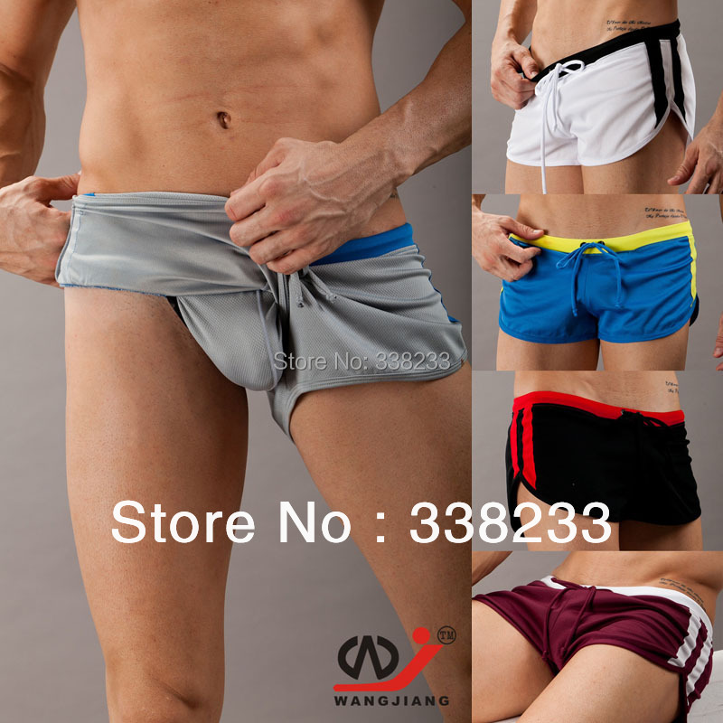 Male Swimming trunks Shorts Men swimwear short Pants Man beach surf board shorts Hot pants running workout