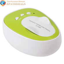 Portable 4ML 100-240V Daily Care Mini Ultrasonic Contact Lens Cleaner Machine Fast Cleaning Gadget(China (Mainland))