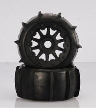 Buy Baja 5T/SC Rovan desert tire assembly rear wheel 95171 for $43.67 in AliExpress store