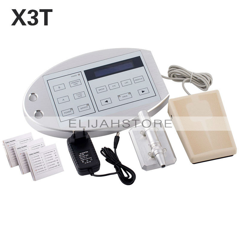 X3T Professional digital Tattoo Machines & Permanent Makeup Eyebrow Lip Body Pen Tattoo Machine Kits(China (Mainland))