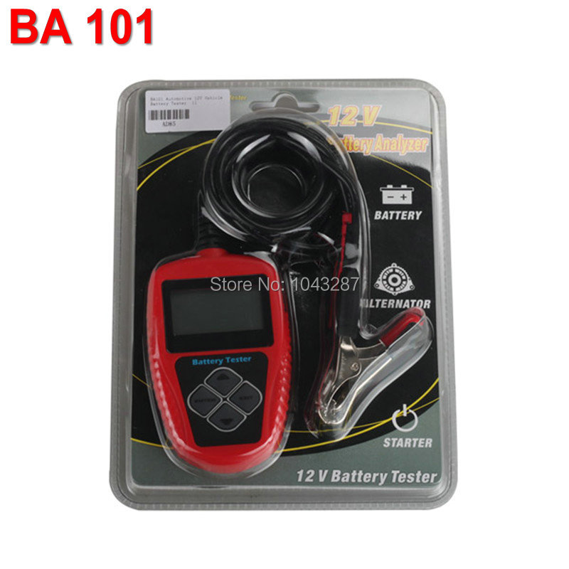 Original Auto Battery Tester QUICKLYNKS BA101 Automotive 12V Vehicle Car Battery Tester BA101 Car Battery Tester<br><br>Aliexpress