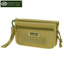 Seibertron Tactical Molle Compact BDU Wallet Carry Case Holster Phone Holder Tactical handbag wallet