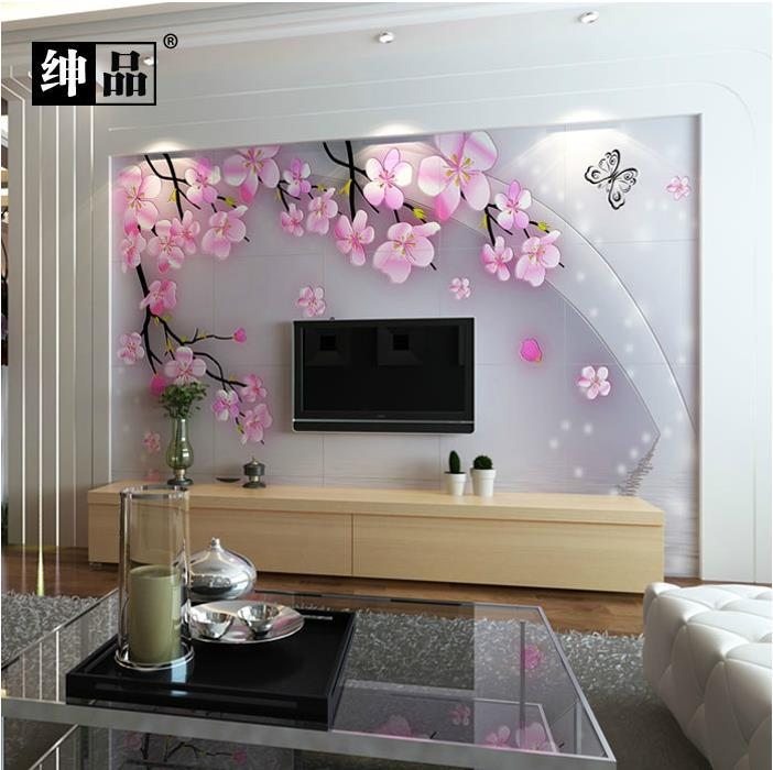 3000 2400 3d fine carving wall background entrance 3d for Wall tiles designs for living room